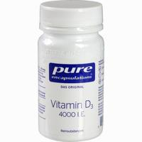 Abbildung von Pure Encapsulations Vitamin D3 4000 I.e. Kapseln 30 Stück