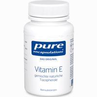 Abbildung von Pure Encapsulations Vitamin E Kapseln  90 Stück