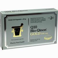 Abbildung von Q10 Bio- Qinon Gold 100mg Kapseln 60 Stück