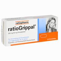 Abbildung von Ratiogrippal 200 Mg/30 Mg Filmtabletten  20 Stück