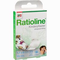 Ratioline Kids Pflasterstrips   15 Stück