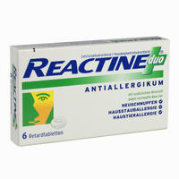 Reactine Duo Retardtabletten  6 Stück