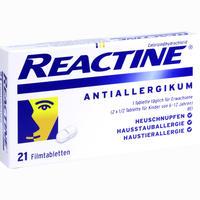 Abbildung von Reactine Tabletten  21 Stück