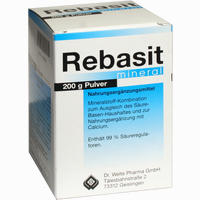 Rebasit Mineral  Pulver 200 g