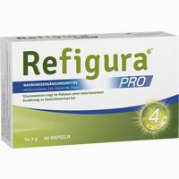 Abbildung von Refigura Pro Kapseln 60 Stück