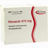 Abbildung von Renacet 475mg Filmtabletten 200 Stück