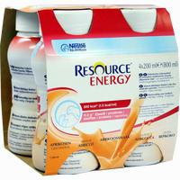 Resource Energy Aprikose  Fluid Ghd nutrition 4X200 ml