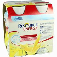 Resource Energy Banane  Fluid Ghd nutrition 4X200 ml