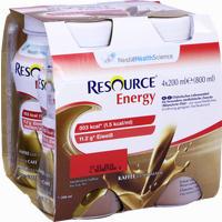 Resource Energy Coffee  Fluid Ghd nutrition 4X200 ml