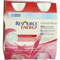 Resource Energy Erdbeer Himbeer  Fluid Ghd nutrition 4X200 ml