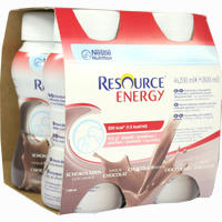 Resource Energy Schokolade  Fluid 4X200 ml