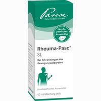 Rheuma-pasc Sl (mischung)  Tropfen 50 ml
