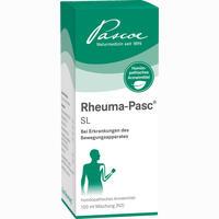 Rheuma-pasc Sl Tropfen 100 ml