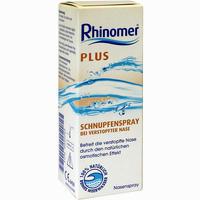 Rhinomer Plus Schnupfenspray  Nasenspray 20 ml