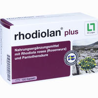 Rhodiolan Plus  Kapseln 120 Stück