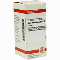 Rhus Toxicodendron C30  Tabletten 80 ST