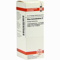Rhus Toxicodendron D12  Dilution Dhu-arzneimittel 20 ML