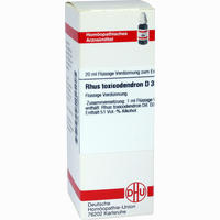 Rhus Toxicodendron D30  Dilution 20 ML