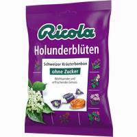 Ricola Holunderblüten Ohne Zucker Beutel Bonbon 75 g