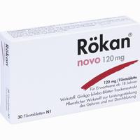Rökan Novo 120 Mg  Filmtabletten 30 Stück