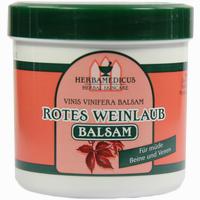 Abbildung von Rotes Weinlaub Balsam Herbamedicus   250 ml