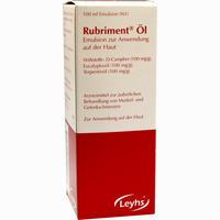 Rubriment öl  Emulsion 100 ml