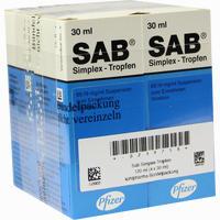 Sab Simplex  Suspension Kohlpharma 4X30 ml
