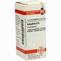 Abbildung von Sabadilla D6 Globuli 10 g