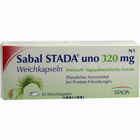 Sabal Stada Uno 320 Mg  Kapseln 20 Stück