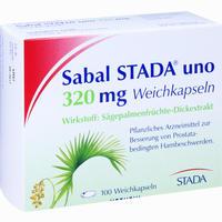 Sabal Stada Uno 320 Mg  Kapseln 100 Stück