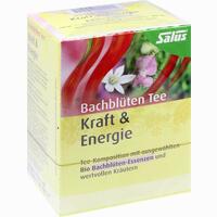 Abbildung von Salus Bachblüten Tee Kraft & Energie Bio Filterbeutel 15 Stück