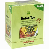 Abbildung von Salus Detox Tee Nr. 1 Kräutertee Filterbeutel 40 Stück