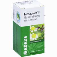 Salviagalen F Mundspülung Konzentrat  Lösung 20 ml