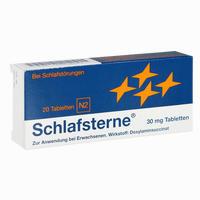 Abbildung von Schlafsterne Tabletten 20 Stück