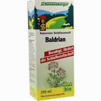 Schoenenberger Baldrian Pflanzensaft  200 ml