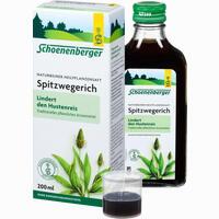Abbildung von Schoenenberger Spitzwegerichsaft  200 ml