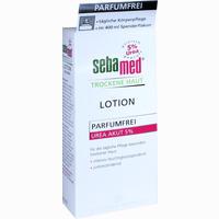 Abbildung von Sebamed Trockene Haut Lotion Urea 5% Parfumfrei  400 ml