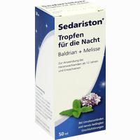 Sedariston Tropfen Für Die Nacht Baldrian+melisse   50 ml