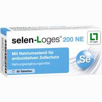 Selen-loges 200 Ne  Tabletten 50 Stück
