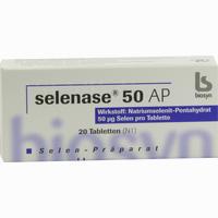 Abbildung von Selenase 50 Ap Tabletten 20 Stück