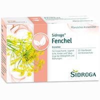 Abbildung von Sidroga Fenchel Filterbeutel 20 Stück