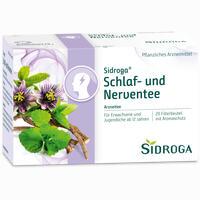 Abbildung von Sidroga Schlaf- und Nerven- Tee Filterbeutel 20 Stück