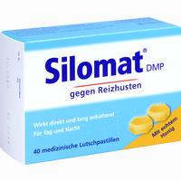 Abbildung von Silomat Dmp gegen Reizhusten mit Honig Lutschpastillen 40 Stück