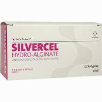 Abbildung von Silvercel Hydroalginat Tamponade 2.5x30.5cm  Tpo  5 Stück
