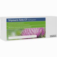 Silymarin Forte - Ct Hartkapseln   100 Stück