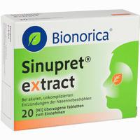Abbildung von Sinupret Extract Tabletten 20 Stück