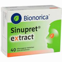 Abbildung von Sinupret Extract Tabletten 40 Stück