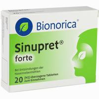 Sinupret Forte Dragees Bionorica   20 Stück