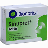 Sinupret Forte Dragees Bionorica   100 ST