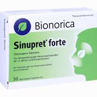 Sinupret Forte überzogene Tabletten  EMRA-MED 50 Stück
